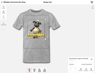 farmerama.spreadshirt.de screenshot