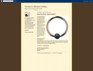 farmersmarketonline.blogspot.com screenshot