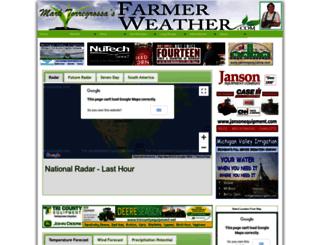 farmerweather.com screenshot