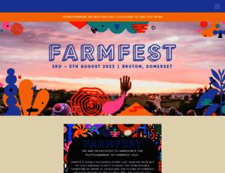 farmfestival.co.uk screenshot