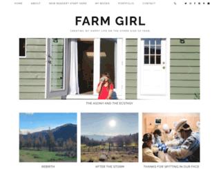 farmgirlmiriam.ca screenshot