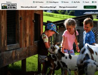 farmholidays.com screenshot