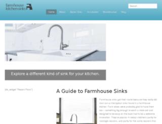 farmhousekitchensinks.net screenshot