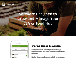 farmigo.com screenshot