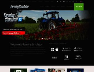 farming-simulator.com screenshot