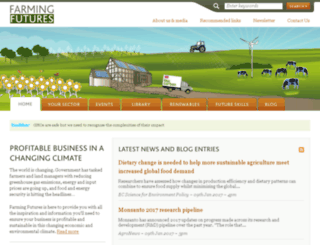 farmingfutures.org.uk screenshot