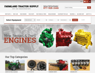 farmlandtractor.com screenshot
