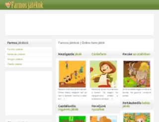 farmos-jatekok.hu screenshot