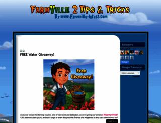 farmville2-tricks.blogspot.ca screenshot