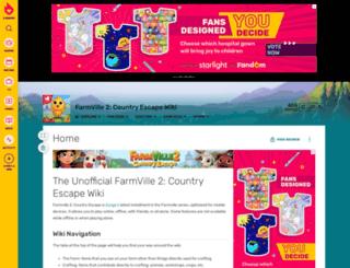 farmvillecountryescape.fandom.com screenshot