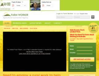 farmworker.com.au screenshot