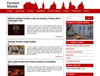 farnostmistek.cz screenshot