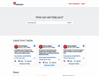 faronics.kayako.com screenshot