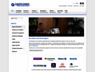 faroseguros.pt screenshot