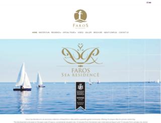 farossearesidence.com screenshot