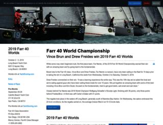 farr40worlds.com screenshot