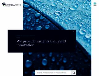 farrellfritz.com screenshot