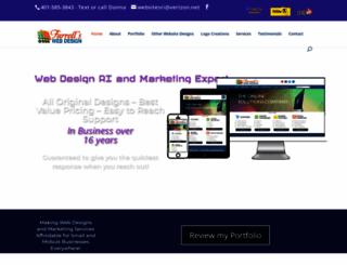 farrellswebdesigns.com screenshot