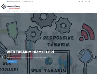 farukgunes.com screenshot
