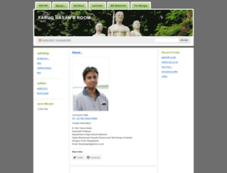 faruqhstu.wordpress.com screenshot