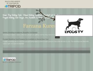 farzanakureshi.tripod.com screenshot