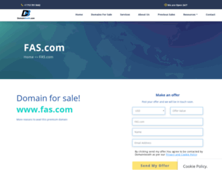 fas.com screenshot