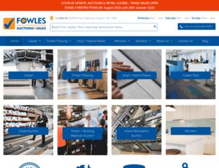 fas.fowles.com.au screenshot