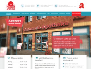 fasanerie-apotheke.de screenshot
