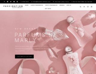 fascination-perfumery.co.uk screenshot