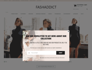 fashaddictshop.com screenshot