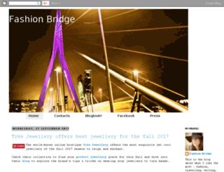 fashion-bridge.blogspot.it screenshot
