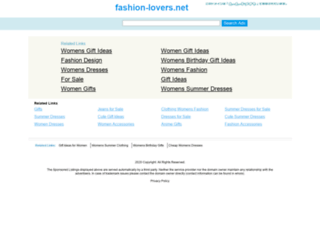 fashion-lovers.net screenshot