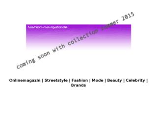 fashion-navigator.de screenshot
