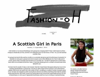 fashion-oh.blogspot.com screenshot