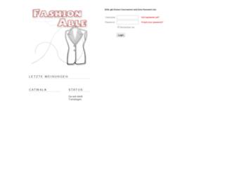 fashion.blogger.de screenshot