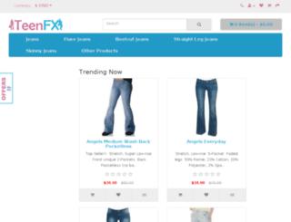 fashion.teenfx.com screenshot