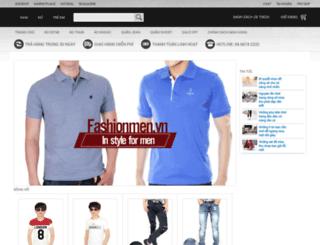 fashion4men.bizwebvietnam.com screenshot