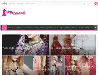 fashionaims.com screenshot