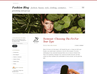 fashionallure.wordpress.com screenshot