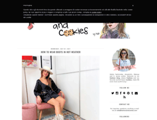 fashionandcookies.com screenshot