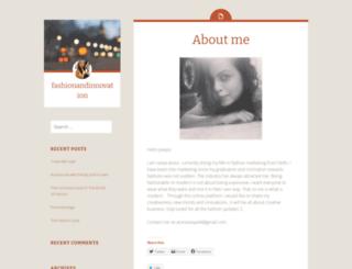 fashionandinnovation.wordpress.com screenshot