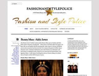 fashionandstylepolice.com screenshot