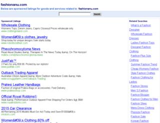 fashionanu.com screenshot