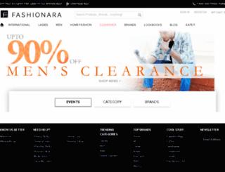 fashionara.com screenshot