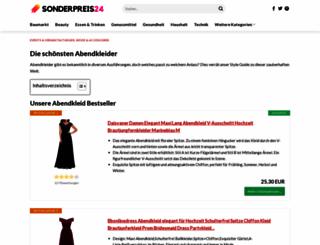 fashionart-abendmode.de screenshot