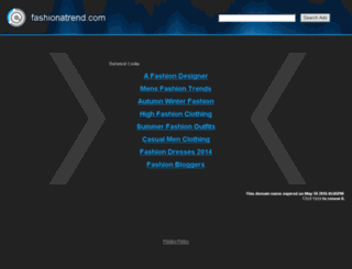 fashionatrend.com screenshot