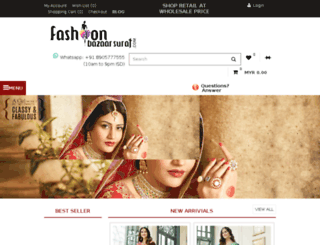 fashionbazaarsurat.com screenshot