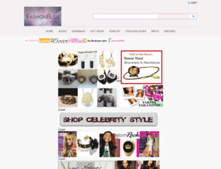 fashionbliss.com screenshot