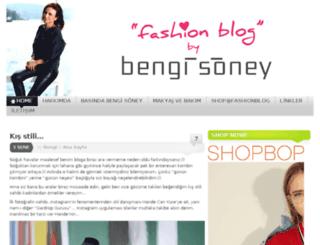 fashionblog.com.tr screenshot
