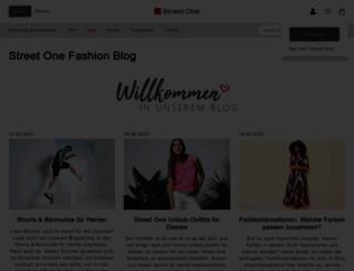 fashionblog.street-one.de screenshot